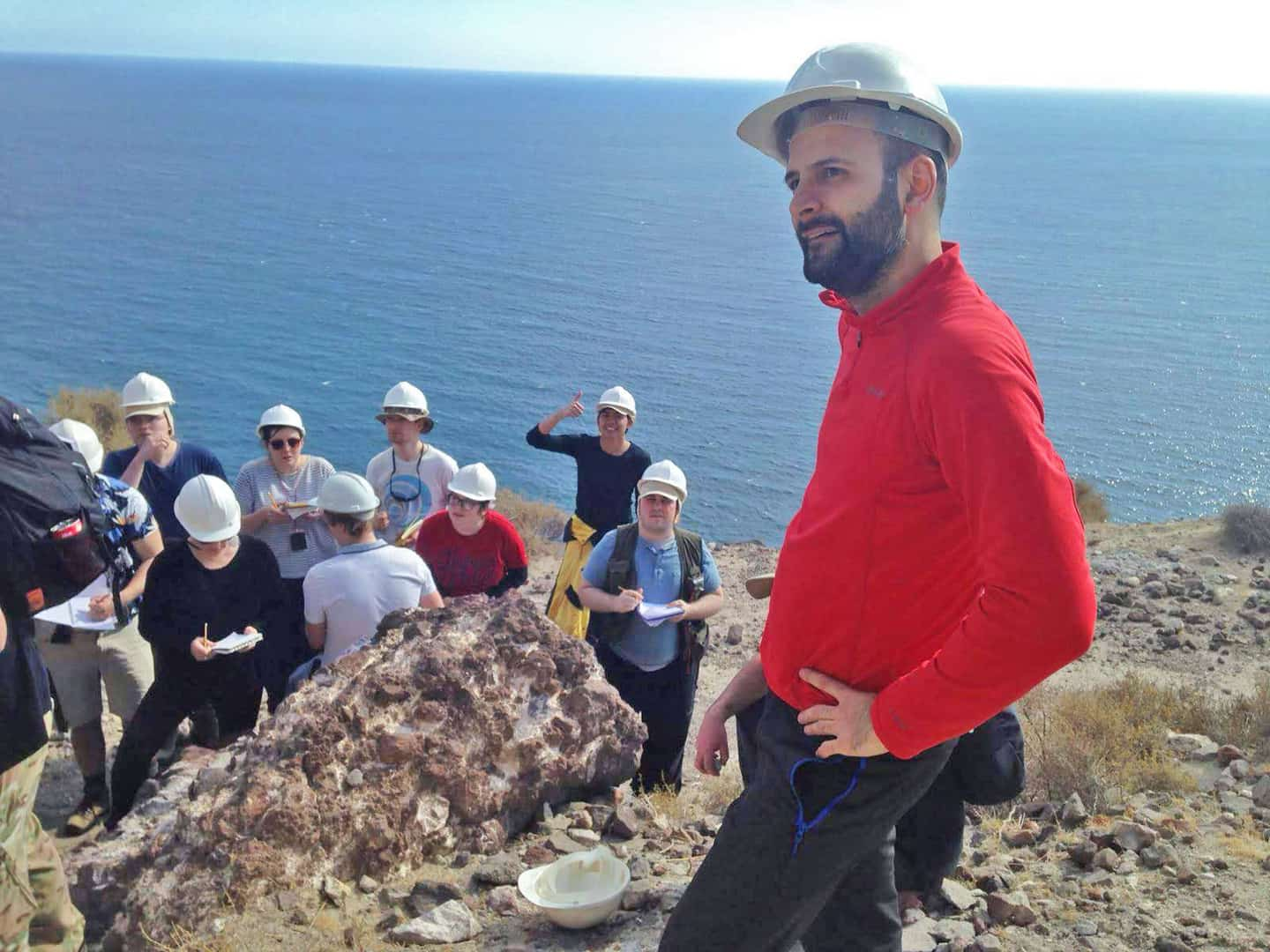 field trip almeria carbonate mapping england
